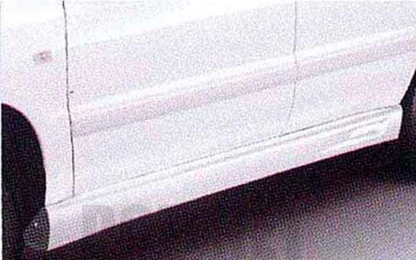 『クルーガーV』 純正 ACU20 サイドマッドガード ※廃止カラーは弊社で塗装 パーツ トヨタ純正部品 サイドスポイラー カスタム エアロパーツ KLUGER オプション アクセサリー 用品