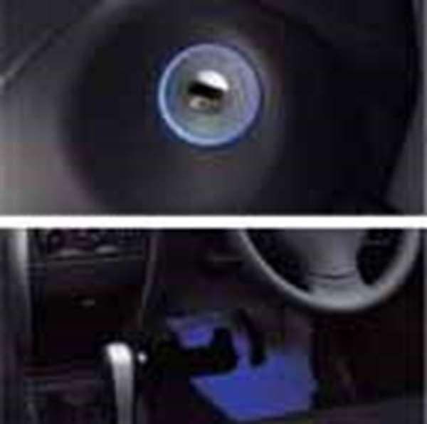 『エリオ』 純正 RB21 RB51 イグニッションキー照明+フロアイルミネーションセット パーツ スズキ純正部品 照明 明かり ライト aerio オプション アクセサリー 用品