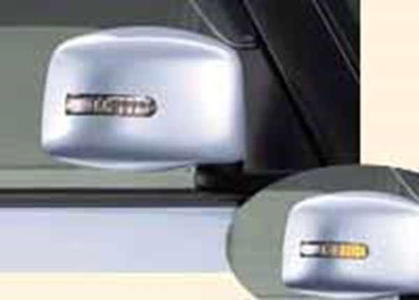 『アルト』 純正 HA24S ドアミラーカバー(サイドマーカーランプ付) パーツ スズキ純正部品 サイドミラーカバー カスタム alto オプション アクセサリー 用品