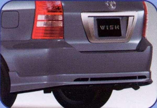 『ウィッシュ』 純正 ANE10 リヤバンパースポイラー ※廃止カラーは弊社で塗装 パーツ トヨタ純正部品 リアスポイラー リヤスポイラー エアロパーツ wish オプション アクセサリー 用品