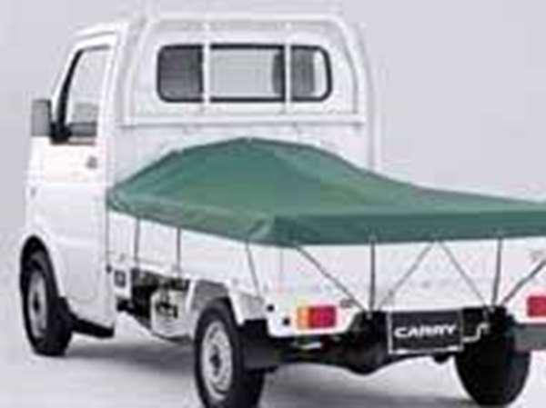 『キャリイ』 純正 DA63 スロープ式平シート パーツ スズキ純正部品 荷台シート carry オプション アクセサリー 用品