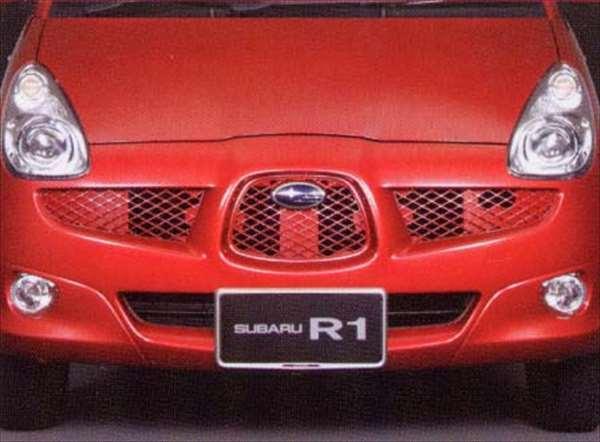 『R1』 純正 RJ1 メッシュグリル パーツ スバル純正部品 オプション アクセサリー 用品