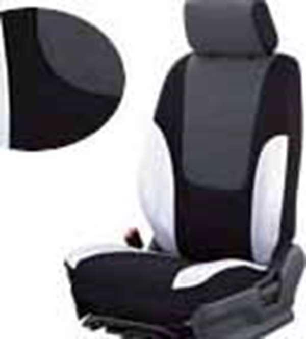 『シボレークルーズ』 純正 HR52S シートカバー(ブラック/シルバー) パーツ スズキ純正部品 座席カバー 汚れ シート保護 ChevroletCruze オプション アクセサリー 用品
