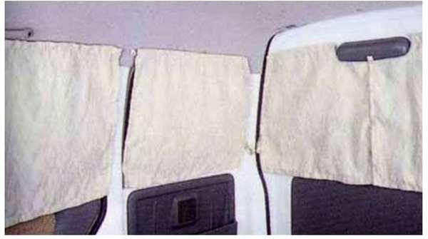 『エブリイ』 純正 DA52 DB52 カーテン(ヘリンボーン) パーツ スズキ純正部品 every オプション アクセサリー 用品