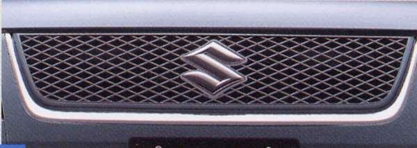 『エスクード』 純正 TD54 TD94 フロントグリル(車体色同色) パーツ スズキ純正部品 メッキ 飾り カスタム エアロ escudo オプション アクセサリー 用品