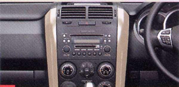 『エスクード』 純正 TD54 TD94 センターガーニッシュ パーツ スズキ純正部品 内装パネル センターパネル オーディオパネル escudo オプション アクセサリー 用品