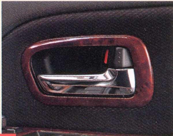 『エスクード』 純正 TD54 TD94 インナーハンドルベゼル パーツ スズキ純正部品 ウッド 木目 内装パネル 飾り ドレスアップ escudo オプション アクセサリー 用品