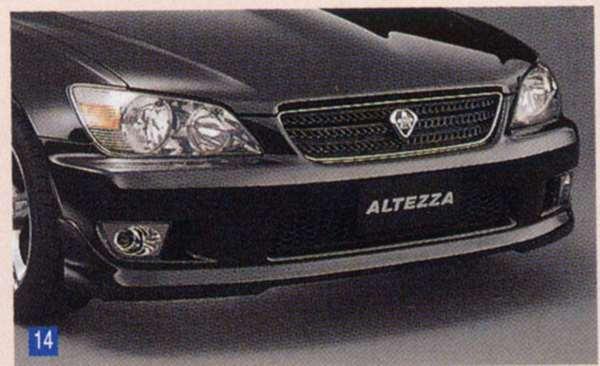 『アルテッツァ』 純正 GXE10 フロントスポイラー ※廃止カラーは弊社で塗装 パーツ トヨタ純正部品 カスタム エアロパーツ altezza オプション アクセサリー 用品