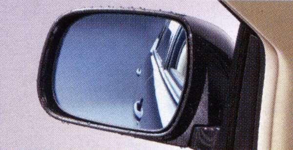 『ハリアー』 純正 ACU31 アウターミラーレインクリアリングブルーミラー パーツ トヨタ純正部品 青色 ドアミラー 雨粒 harrier オプション アクセサリー 用品