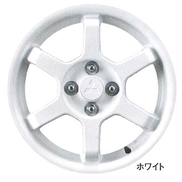 『コルト』 純正 Z21 Z22 Z23 Z24 アルミホイール 1本のみ (15インチ6本スポーク) ホワイト パーツ 三菱純正部品 安心の純正品 COLT オプション アクセサリー 用品