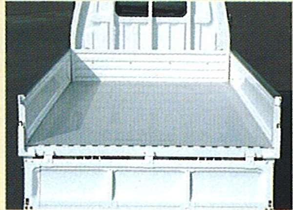 『デリカ』 純正 SK82 SKE6 荷台ラバーマット(厚さ5mm) トラック標準ボデー車 パーツ 三菱純正部品 ゴムマット フロアマット DELICA オプション アクセサリー 用品