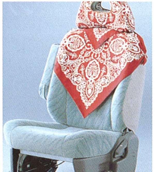 『デリカスペースギア』 純正 PD6 バンダナハーフカバー パーツ 三菱純正部品 座席カバー 汚れ シート保護 DELICA オプション アクセサリー 用品