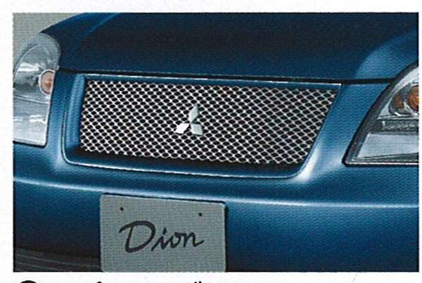 『ディオン』 純正 CR6 スポーティグリル パーツ 三菱純正部品 DION オプション アクセサリー 用品
