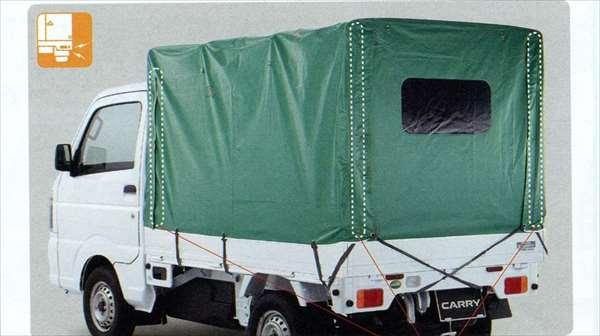 『キャリイ』 純正 DA16T 幌セット フロア式 パーツ スズキ純正部品 ホロ トラック幌 carry オプション アクセサリー 用品