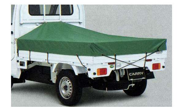 『キャリイ』 純正 DA16T スロープ式平シート パーツ スズキ純正部品 荷台シート carry オプション アクセサリー 用品
