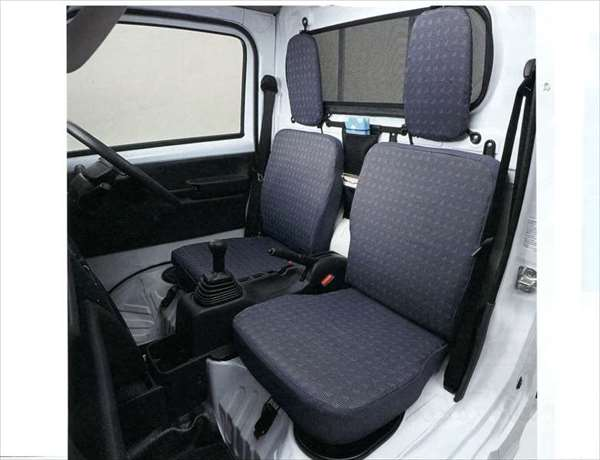 『キャリイ』 純正 DA16T シートカバー(スタイリッシュグレー) パーツ スズキ純正部品 座席カバー 汚れ シート保護 carry オプション アクセサリー 用品