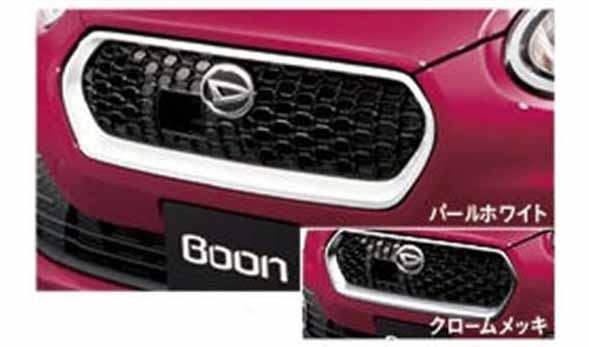 『ブーン』 純正 M700S M710S フロントグリル パーツ ダイハツ純正部品 メッキ boon オプション アクセサリー 用品