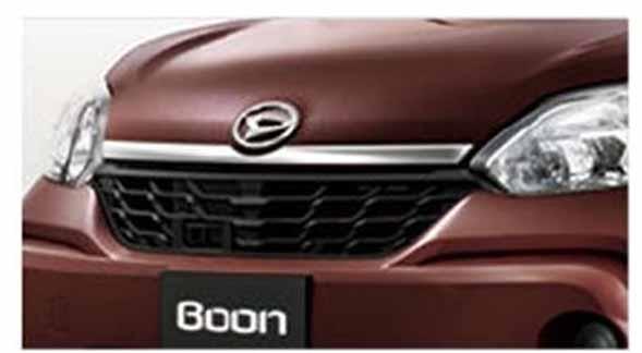 『ブーン』 純正 M700S M710S フードガーニッシュ パーツ ダイハツ純正部品 boon オプション アクセサリー 用品