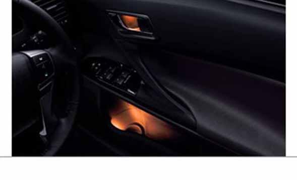 『マークX』 純正 GRX133 GRX130 GRX135 ドアハンドル&ポケットイルミネーション フロント&リヤ パーツ トヨタ純正部品 markx オプション アクセサリー 用品