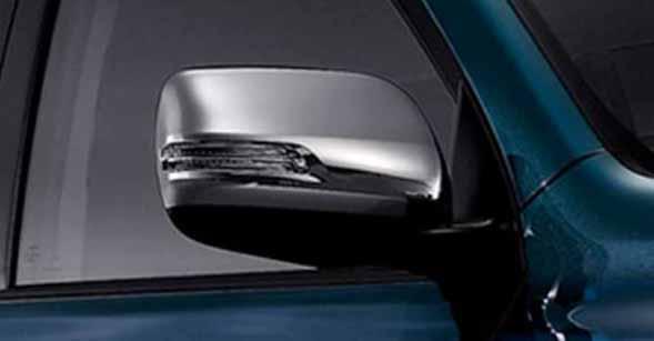 『ランドクルーザープラド』 純正 TRJ150 メッキドアミラーカバー 左右セット パーツ トヨタ純正部品 サイドミラーカバー カスタム landcruiser オプション アクセサリー 用品