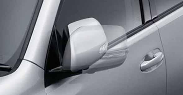 『ランドクルーザープラド』 純正 TRJ150 オートリトラクタブルミラー ※ミラー本体ではありません パーツ トヨタ純正部品 ドアミラー自動格納 駐車連動 landcruiser オプション アクセサリー 用品