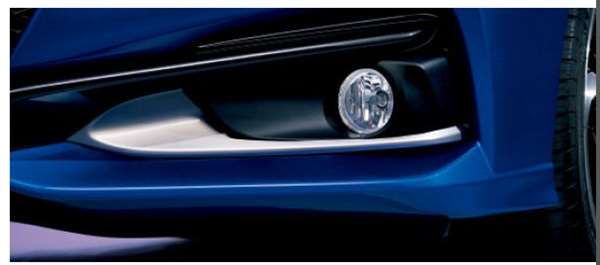 『CR-Z』 純正 ZF2 フォグライトガーニッシュ パーツ ホンダ純正部品 フォグランプ 補助灯 霧灯 オプション アクセサリー 用品