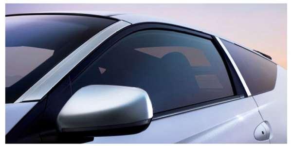 『CR-Z』 純正 ZF2 ピラーガーニッシュ(グリッターシルバー・メタリック/左右セット)Aピラー用 パーツ ホンダ純正部品 エアロパーツ オプション アクセサリー 用品