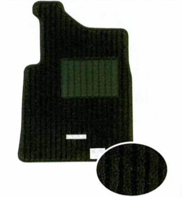 『ジムニー』 純正 JB23 フロアマット(ジュータン ツインライン) パーツ スズキ純正部品 フロアカーペット カーマット カーペットマット jimny オプション アクセサリー 用品