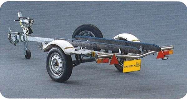 『パジェロイオ』 純正 H76 H77 ボートトレーラー パーツ 三菱純正部品 PAJERO オプション アクセサリー 用品