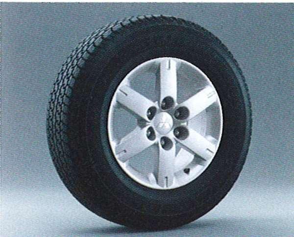 『パジェロ』 純正 V77 V73 V63 アルミホイール 1本のみ 光輝タイプ) パーツ 三菱純正部品 安心の純正品 PAJERO オプション アクセサリー 用品