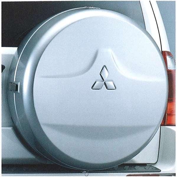 『パジェロ』 純正 V77 V73 V63 スタイルドタイヤケース(ニュータイプ) パーツ 三菱純正部品 PAJERO オプション アクセサリー 用品