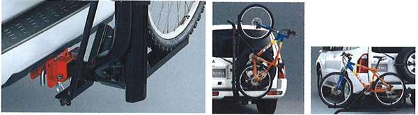 『パジェロ』 純正 V77 V73 V63 サイクルキャリアアタッチメント パーツ 三菱純正部品 自転車固定 PAJERO オプション アクセサリー 用品