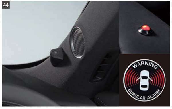 『CX-8』 純正 KG2P バークアラーム(侵入センサー付) 本体のみ ※侵入センサーは別売り パーツ マツダ純正部品 オプション アクセサリー 用品