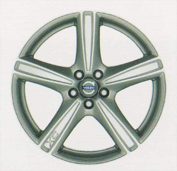 XC90 パーツ アルミホイール ヴァルカニス 8×19インチ ボルボ純正部品 CB5254AW オプション アクセサリー 用品 純正 送料無料