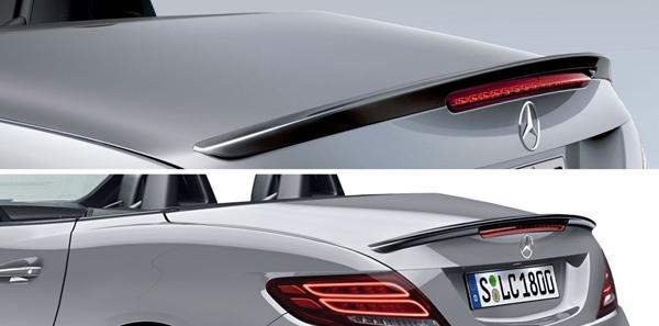 『SLC』 純正 DBA CBA トランクリッドスポイラーリップ パーツ ベンツ純正部品 オプション アクセサリー 用品