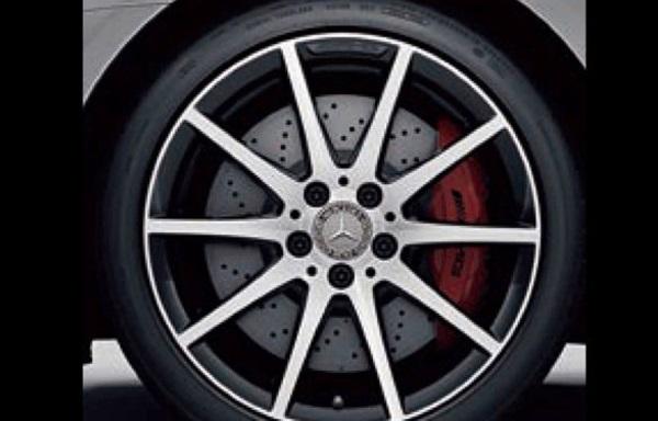 『SLC』 純正 DBA CBA  AMG 18インチ アルミホイール 10スポーク(ブラック/ハイシーン) パーツ ベンツ純正部品 安心の純正品 オプション アクセサリー 用品