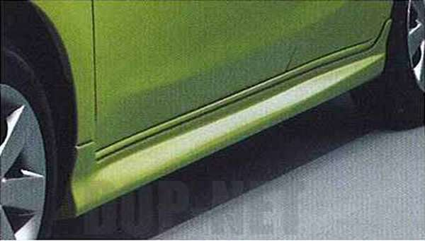 『マーチ』 純正 K13 NK13 サイドシルプロテクター 特別塗装色 パーツ 日産純正部品 サイドスポイラー エアロパーツ カスタム MARCH オプション アクセサリー 用品