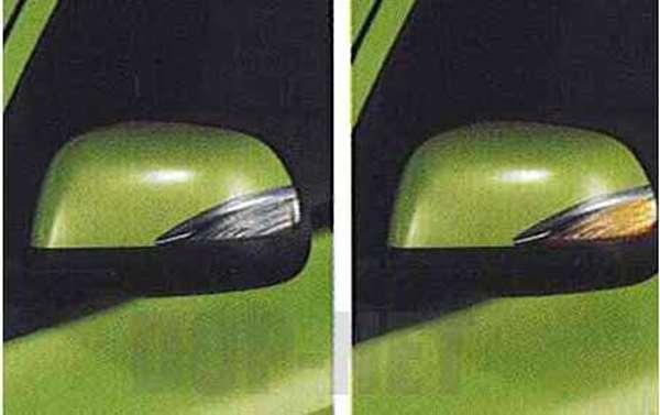 『マーチ』 純正 K13 NK13 スタイリッシュドアミラーウインカー(貼り付けタイプ) パーツ 日産純正部品 MARCH オプション アクセサリー 用品