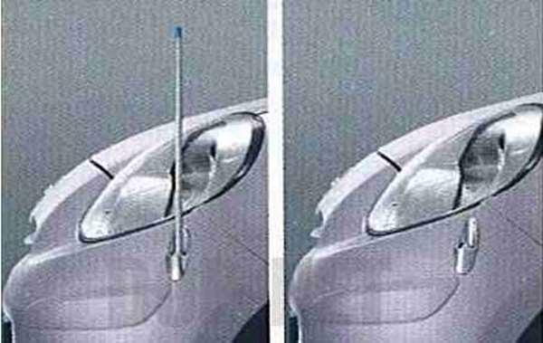 『マーチ』 純正 K13 NK13 電動格納式ネオンコントロール 本体+昇降スイッチ パーツ 日産純正部品 コーナーポール フェンダーランプ フェンダーライト MARCH オプション アクセサリー 用品
