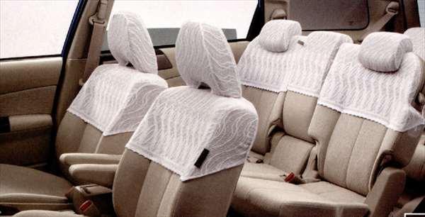 『エクシーガ』 純正 YA4 YA5 ハーフカバー 7席分 パーツ スバル純正部品 座席カバー 汚れ シート保護 exiga オプション アクセサリー 用品