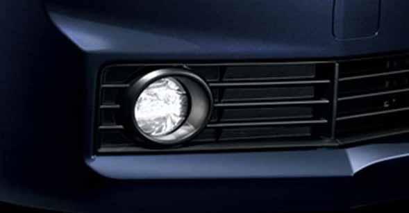 『スペイド』 純正 NCP141 NCP145 NSP140 LEDフォグランプ用のランプキット ※フィッティングキット と スイッチキット別売り パーツ トヨタ純正部品 フォグライト 補助灯 霧灯 spade オプション アクセサリー 用品