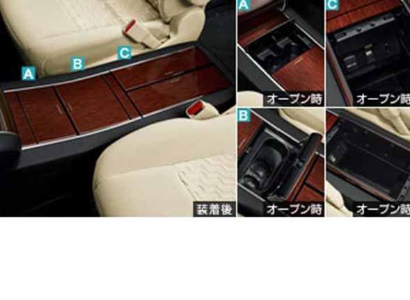 『アルファード』 純正 GGH30W システムコンソール パーツ トヨタ純正部品 alphard オプション アクセサリー 用品