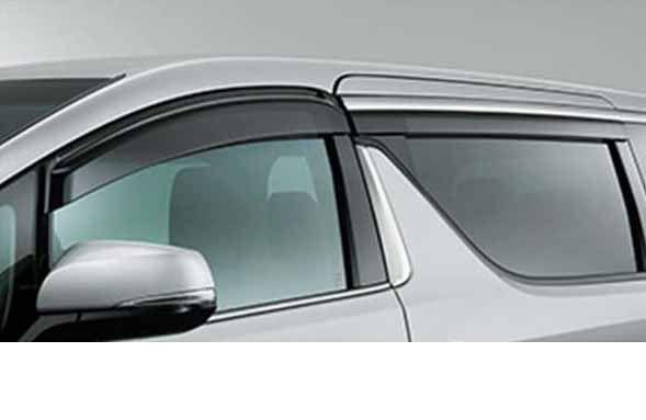 『アルファード』 純正 GGH30W サイドバイザー RVワイド タイプ1 パーツ トヨタ純正部品 ドアバイザー 雨よけ 雨除け alphard オプション アクセサリー 用品