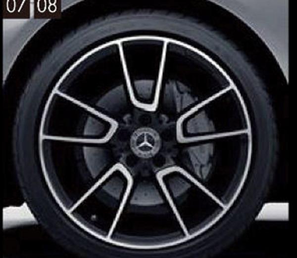 『Cクラス(クーペ、カブリオレ)』 純正 DBA CBA AMG19インチ アルミホイール(5ツインスポーク) パーツ ベンツ純正部品 安心の純正品 オプション アクセサリー 用品