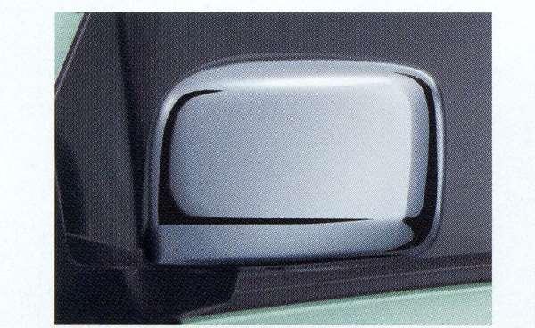 『フレアワゴン』 純正 MM32S メッキ ドアミラーカバー パーツ マツダ純正部品 サイドミラーカバー カスタム FLAIR オプション アクセサリー 用品
