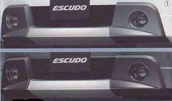 『エスクード』 純正 TDA4W TDB4W フロントバンパーアンダーガーニッシュ パーツ スズキ純正部品 escudo オプション アクセサリー 用品