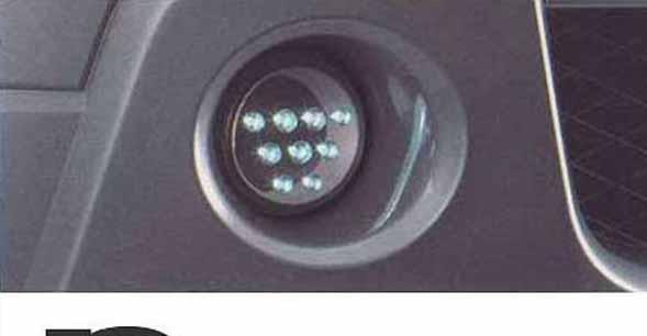 『エスクード』 純正 TDA4W TDB4W LEDデイタイムランプ パーツ スズキ純正部品 escudo オプション アクセサリー 用品