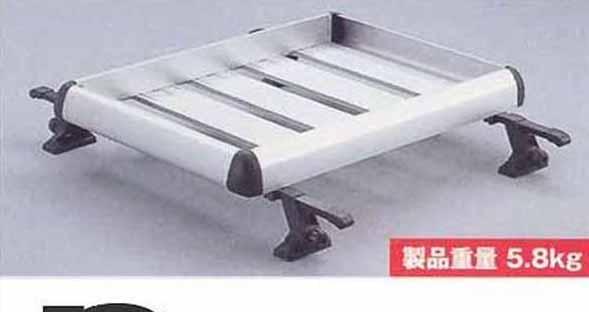 『エスクード』 純正 TDA4W TDB4W ルーフラックアタッチメント(アルミ) パーツ スズキ純正部品 キャリア別売り escudo オプション アクセサリー 用品