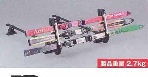 『エスクード』 純正 TDA4W TDB4W スキー&スノーボードアタッチメント(斜め積み) パーツ スズキ純正部品 キャリア別売り escudo オプション アクセサリー 用品