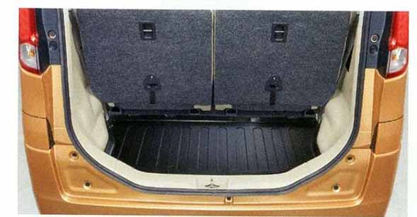 『スペーシア』 純正 MK32S ラゲッジマット(トレー) パーツ スズキ純正部品 ラゲージマット 荷室マット 滑り止め spacia オプション アクセサリー 用品